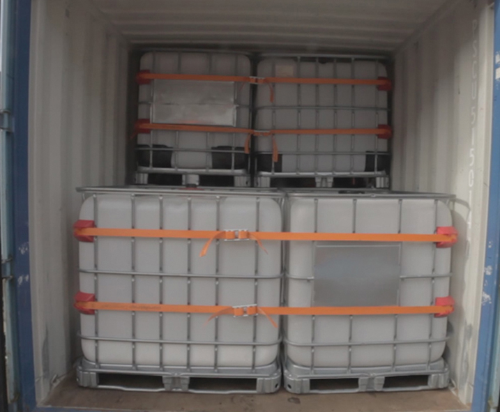 Lading zekeren in containers